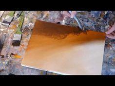 Abstract Painting Techniques - Démonstration de peinture abstraite (22) - YouTube