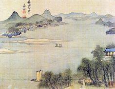 The Real Landscape Painting  금성평사(양천10경 ) 1740~1 간송미술관