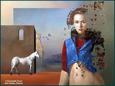 Kai Fine Art is an art website, shows painting and illustration works all over the world. Woman Painting, Painting & Drawing, Surreal Photos, Russian Painting, Collage Art Mixed Media, Magic Realism, Photorealism, Visionary Art, Artist At Work
