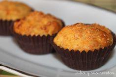 Muffins de chorizo y zanahoria, Receta Petitchef Tapas, Breakfast, Recipes, Food, Quesadillas, Curry, Cupcakes, Gastronomia, Recipes With Chorizo