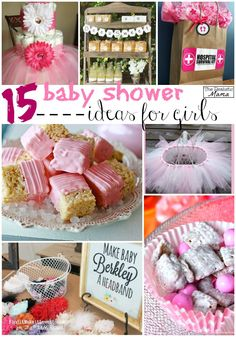 Adorable baby shower ideas for a baby girl