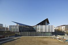 Entrepot Macdonald – Education and Sports Complex   Architecture   kengo kuma and associates