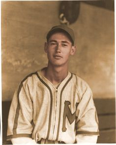 Ted Williams, 19 years old, with the Minneapolis Millers
