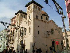 Iglesia de San Jorge en honor al patrón de las fiestas de moros y cristianos de interés turistico