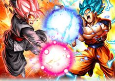 Goku vs black