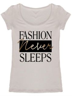 Fashion Never Sleeps Tee   Sassy Shortcake