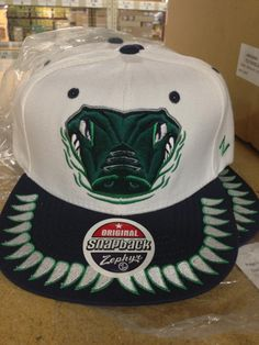 pretty nice 77cbe c652f A Refresh snapack from Zephyr Hats for the Florida Everglades from the  ECHL  buy it · Florida EvergladesSnapback CapNhlSnapback Hats