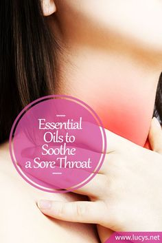 , Essential Oils for Sore Throats & Strep: Soothe & Relief (plus DIY Recipes) , 6 Essential Oils That Will Treat And Soothe a Sore Throat (Including Strep Throat). Sore Throat Kids, Oils For Sore Throat, Sooth Sore Throat, Throat Pain, Essential Oil Blends For Colds, Essential Oils Allergies, Essential Oils For Colds, Strep Throat Relief, Flu