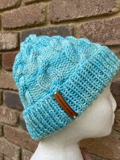 Excited to share this item from my #etsy shop: Knitted aqua blue beanie, merino aqua blue beanie, mens or ladies blue beanie knitted merino wool Etsy Handmade, Handmade Items, Aqua Blue, Merino Wool, Hand Knitting, Collaboration, Best Gifts, Etsy Seller, Winter Hats