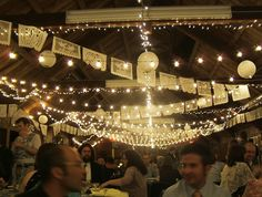 White Mexican Wedding Banner 13 feet 10 panels for 1750