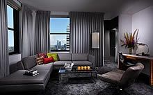 With windows facing north, east and south, Chicago unfolds before your eyes from our Tower Suites!