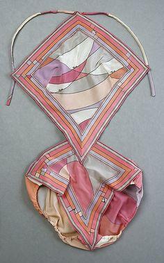 OMG. Emilio Puccibathing suit ca. 1969