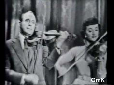 """My most favorite television clip of all time.  Jack Benny and Giselle MacKenzie playing """"Getting to Know You."""""""