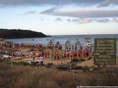 32 miles on a Paddleboard - Molokai 2 Oahu Paddleboard World Championship