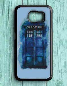 Doctor Who Police Box Samsung Galaxy S6 Case