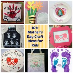Gift and Craft Ideas for Mothers Day