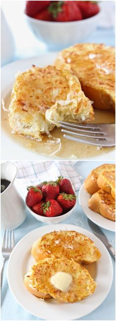Coconut Crusted French Toastt