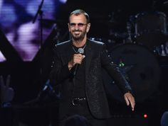 Ringo Starr performs onstage during the 30th Annual Rock And Roll Hall Of Fame Induction Ceremony at Public Hall on April 18, 2015 in Cleveland, Ohio.