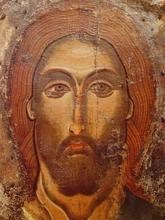 Divine Face of Jesus, my true Home Land just by looking at Thee I feel healing flowing thru each atom of my being. Byzantine Icons, Byzantine Art, Religious Icons, Religious Art, Anima Christi, Paint Icon, Christian Artwork, Jesus Face, Russian Icons