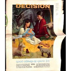 Cover Print of Decision Magazine, December 1968 | $6.60
