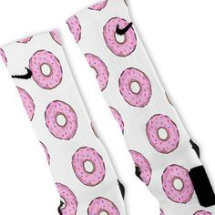 Pink Donuts Custom Nike Elite Socks – Fresh Elites