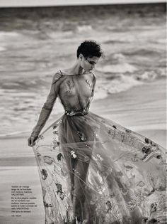 """Queen of the Seas"" Chloe Lecareux for Telva Spain June 2015"