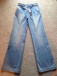Coldwater-Creek-Classic-Denim-Trouser-Size-4R-MSRP-69-95-8881