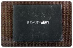 July 2014 Beauty Army: Beauty box reporting for duty! Price: $12/month -- #beauty #beautyarmy #makeup #subscriptionbox #cosmetics #body