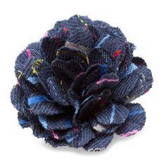 Farris Small Lapel Flower | CuffLinks.com | Hook & Albert