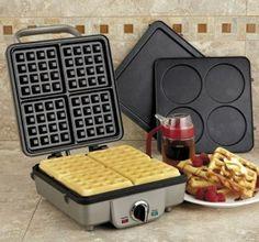 WIN a FREE Cuisinart Waffle and Pancake Maker