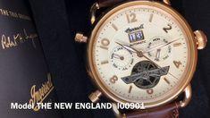 21471f8ac6d Mechanické hodinky Ingersoll The New England I00901 - YouTube New England