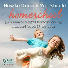 How to Know if You Should Homeschool