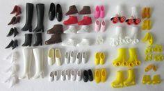 Barbie Doll Boots, Heels, Sneakers, Rollerskates