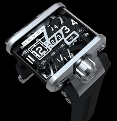 The Devon Works Tread 1 Timepiece Watch Design