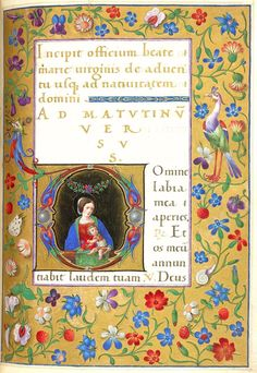 Hours of Bonaparte Ghislieri', formerly known as 'The Albani Hours' f.75r