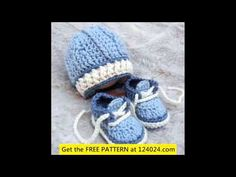 easy crochet baby hats ideas - YouTube