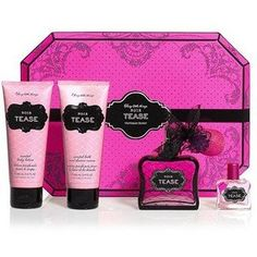 Cool Victoria Secret Sexy little things Noir Tease Box Set