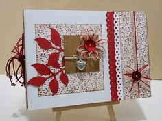 Lovely colour combination, lots of die cuts and stamps