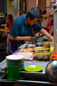 Streetfood in Georgetown, Penang, Malaysia
