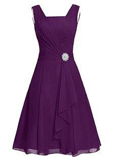 Fashionbride Women's Chiffon Layers Bridesmaid Chiffon Pr...