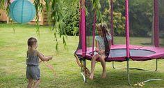 4.5ft Junior Trampoline - Pink by Plum