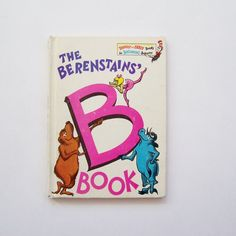 The Berenstains' B Book Hardcover Book by MyForgottenTreasures, $6.00