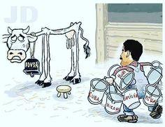 #venezuela y su vaca lechera #pdvsa