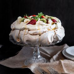 Australian Pavlova is all about that crunchy, crumbly meringue shell and soft, pillowy marshmallow centre, topped with lashings of sweet cream and fruit.