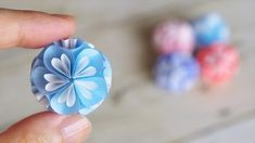 Origami for Everyone – From Beginner to Advanced – DIY Fan Origami Star Box, Origami And Kirigami, Origami Easy, Origami Paper, Paper Flower Ball, Paper Flowers Craft, Flower Crafts, Paper Crafts, Paper Glue