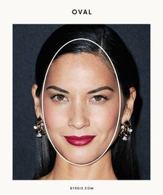 How to Figure Out Your Face Shape Once and for All via @ByrdieBeauty