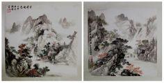http://maimaiwenhua.com/tienda/acuarela-china-paisajes-china  Oferta del día: pareja de acuarelas tradicionales chinas pintadas a mano y selladas, únicas y originales, representando los famosos paisajes las montañas de China.  Pago seguro, envío gratuito.  Solo en nuestra tienda online de arte tradicional chino:  http://maimaiwenhua.com/tienda