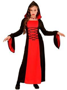 Gotisk pige kjole til Halloween - Kr. 225 - FRI FRAGT