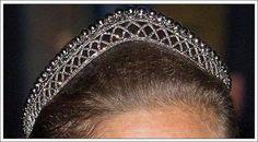 Swedish royal family's small steel cut tiara