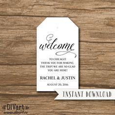 Place Cards Escort Cards Food Labels  Printable Files  Rustic